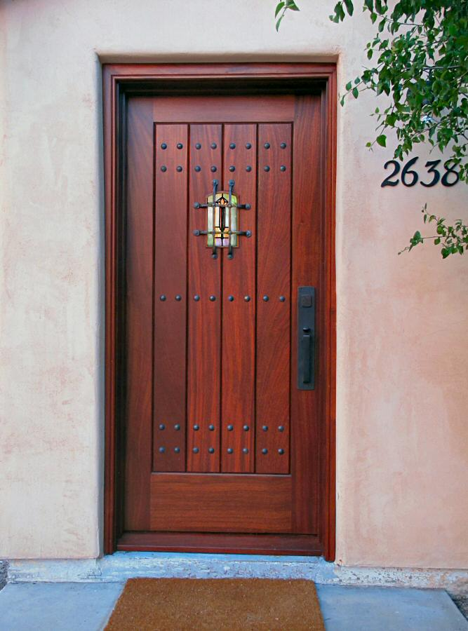 Arts and Crafts entry door