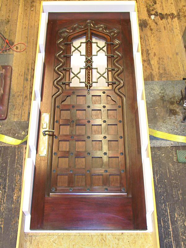 9' tall Moorish Door