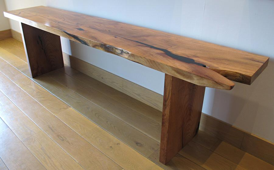 mesquite console table