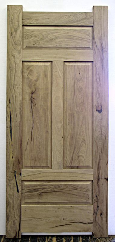 4 panel mesquite door